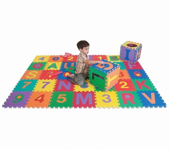 Covoras puzzle cu piese mari-pachet 30 piese