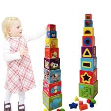 set-8-cuburi-turn-din-lemn-cu-forme-geometrice-animale