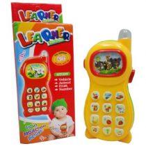 Telefon de jucarie educativ cu proiectie