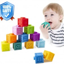 Cuburi silicon bebe- set cuburi moi bebelusi