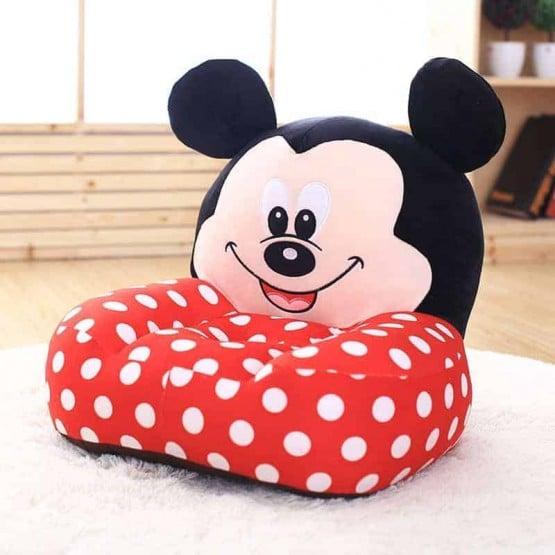 Fotoliu plus Mickey Mouse cu buline