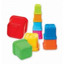 Cuburi stivuire Turnul colorat cu cifre On-u-mind