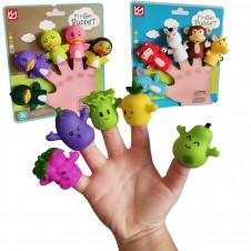 Set 5 figurine Finger Puppet marionete de deget