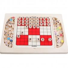 Sudoku multifunctional - joc sudoku din lemn