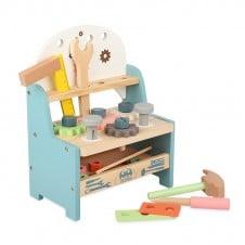 Banc de lucru din lemn jucarie copii Mini Tool Bench MSN-20015