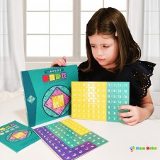Joc Sudoku Carte magnetica cu piese din lemn