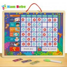 Tabla magnetica Recompense pentru copii Flower
