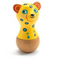 Maracas jucarie lemn Jaguarul Djeco