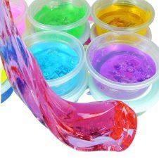 Jucarii Slime 5D - set 12 borcanele slime inteligent