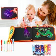 Carte colorat reutilizabila Magic Draw Chalk Book