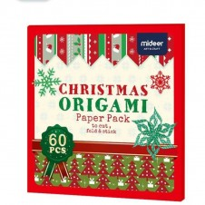 Joc Origami Craciunul 60 modele Mideer Christmas